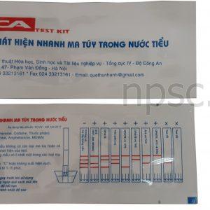 Que thử ma túy MTD-17, NSX Viện KHCN Bộ Công An