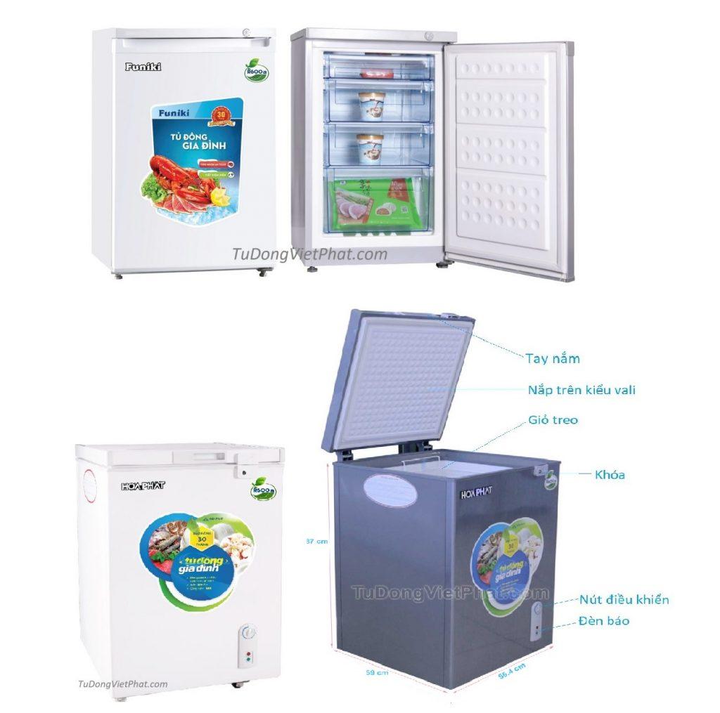 10 tiêu chí chọn mua tủ đông mini phù hợp tốt nhất
