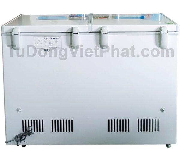 Mặt sau tủ đông Hòa Phát 245l HCF 606S2Đ2