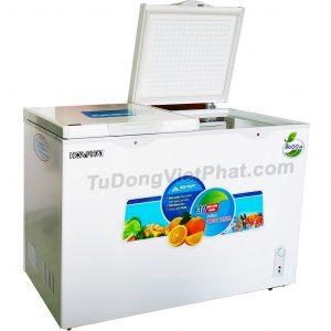 Tủ đông Hòa Phát 245l HCF 606S2Đ2, 2 ngăn đông mát dàn đồng