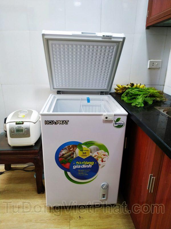 Tủ đông mini 100l Hòa Phát