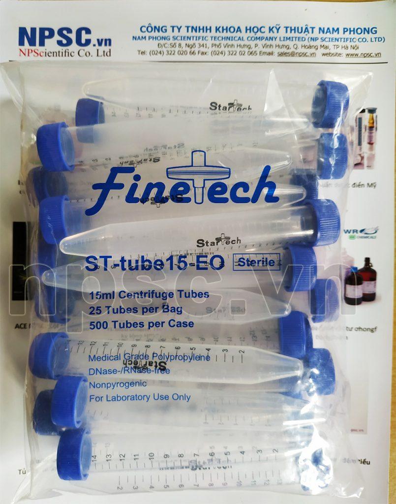 Ống ly tâm nhựa 15ml tiệt trùng