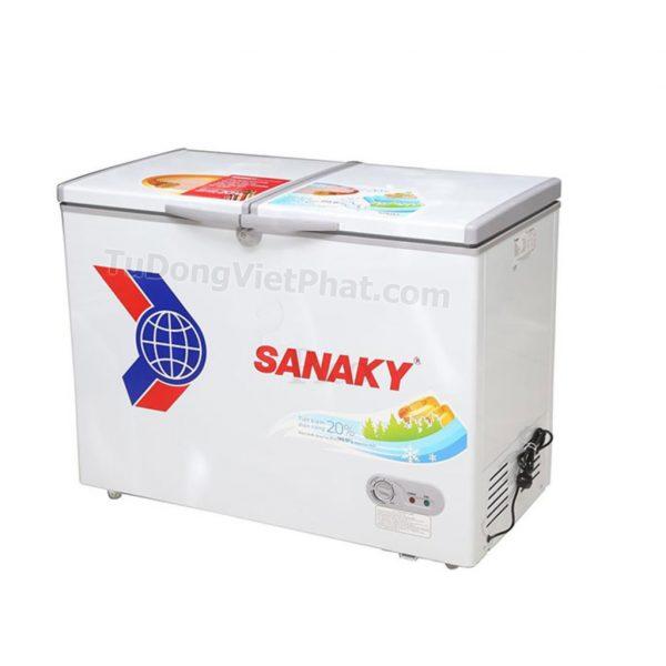Tủ đông Sanaky VH-2899A1, 235L 1 ngăn đông dàn đồng