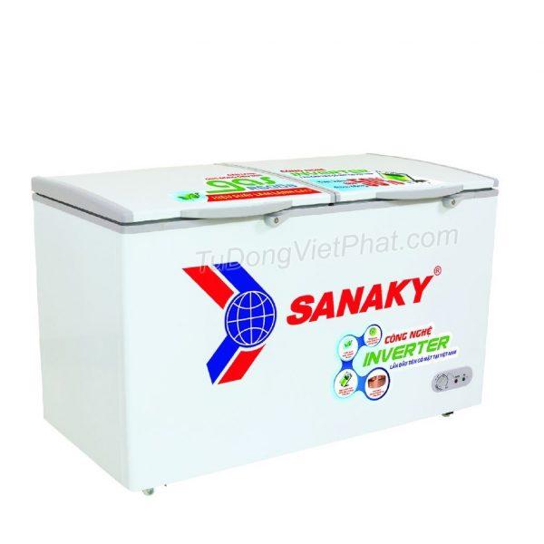 Tủ đông Sanaky VH-4099A3, INVERTER 305L 1 ngăn đông