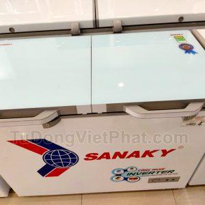 Tủ đông Sanaky VH-4099W4KD INVERTER mặt kính cường lực