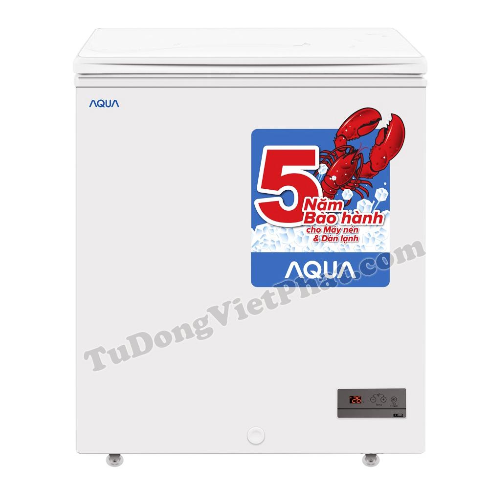 Tủ đông mini không đóng tuyết Aqua AQF-FG155ED 142L - Giá rẻ T2/2020